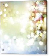 Starry Background Acrylic Print