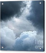 Storm Clouds Acrylic Print