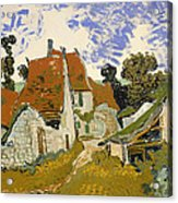 Street In Auvers-sur-oise Acrylic Print