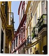 Streets Of Seville - Magic Colours Acrylic Print