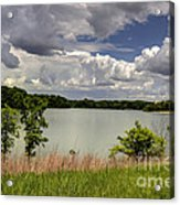 3-summer Time At Moraine View State Park Acrylic Print