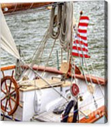 At The Helm Acrylic Print