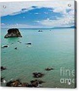 Tasman Sea At West Coast Of South Island Of Nz Acrylic Print