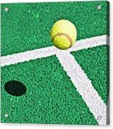 Tennis Ball Acrylic Print