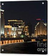 The Bund, Shanghai Acrylic Print