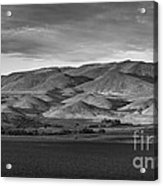 The Butte Acrylic Print