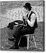 3 - The Cravat - Cravate - French Mime Acrylic Print