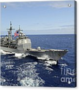 The Guided-missile Cruiser Uss Acrylic Print