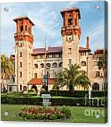 The Lightner Museum Formerly The Hotel Alcazar St. Augustine Florida Acrylic Print