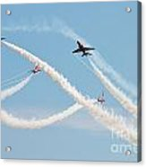 The Red Arrows Eastbourne Acrylic Print