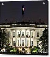 The White House Acrylic Print by John Greim