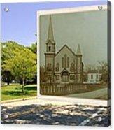 Third Methodist Church On The Commons In Little Compton Rhode Island Acrylic Print