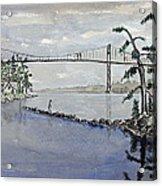Thousand Islands Bridge Acrylic Print