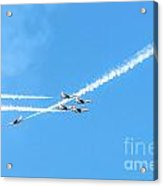 Thunderbirds In Formation Acrylic Print