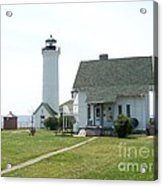 Tibbetts Point Light Acrylic Print by Kevin Croitz