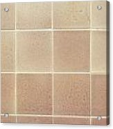 Tiles Background Acrylic Print