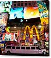 Times Square - New York City Acrylic Print