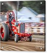 Tractor Pull Acrylic Print