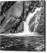 True's Brook Gorge Water Fall Acrylic Print