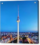 Tv Tower Or Fersehturm In Berlin Acrylic Print