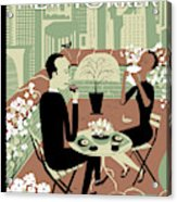 New Yorker April 23rd, 2012 Acrylic Print