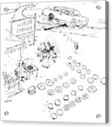 New Yorker September 7th, 2009 Acrylic Print