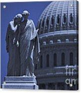 Us Capitol Peace Monument  Acrylic Print