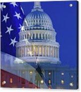 Usa, Washington Dc Acrylic Print