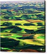Usa, Washington State, Eastern Acrylic Print