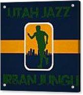 Utah Jazz Acrylic Print