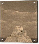 Uxmal Ruins Acrylic Print