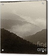 View From Highland Scenic Highway Acrylic Print