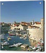 View Of Dubrovnik In Croatia Acrylic Print
