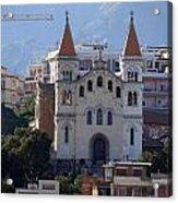 Views Of Messina Italy Acrylic Print