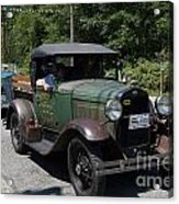 Vintage Cars Acrylic Print