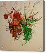 Wet Dinosaurs Acrylic Print by Nickolas Kossup