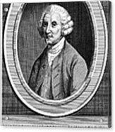 William Hunter (17178-1783) Acrylic Print