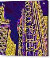 Willis Group And Lloyd's Of London  Acrylic Print
