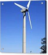 Wind Powered Electric Turbine Acrylic Print