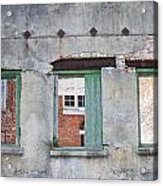 3 Windows Acrylic Print