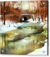 Winter Waters Acrylic Print