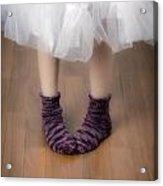 Woollen Socks Acrylic Print