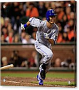World Series - Kansas City Royals V San Acrylic Print