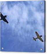 Wwii Planes Acrylic Print
