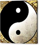 Yin And Yang 4 Acrylic Print