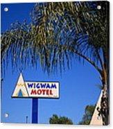 Route 66 - Wigwam Motel Acrylic Print