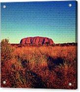 Uluru Acrylic Print