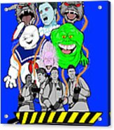 30 Years Of Ghostbusters Acrylic Print by Gary Niles