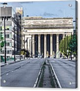 30th Street Station From Jfk Blvd Acrylic Print