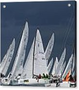 All Sail Acrylic Print